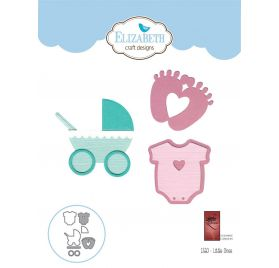7 Dies/ Matrices de découpe 'Elizabeth Craft Designs' Little Ones