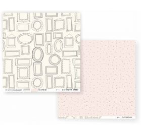 Papier double 30x30 'Studio Forty - Daydream' Frames/Dots