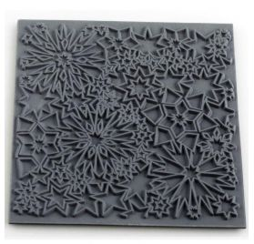 Plaque de texture 'Cernit' Constellation 9x9 cm