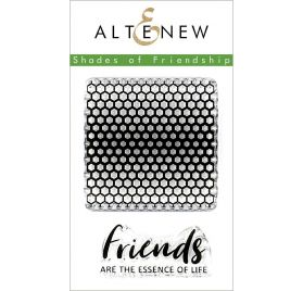 2 Tampons transparents 'Altenew' Shades of friendship