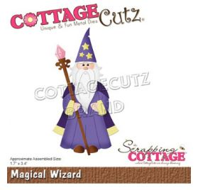 Die/Matrice de découpe 'The Scrapping Cottage - Cottage Cutz' Magical Wizard