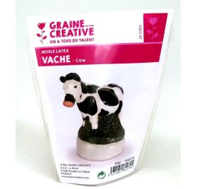 Moule latex 'Graine Créative by DTM' Vache
