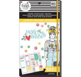 Bloc de 523 autocollants, bloc-notes et notes adhésives  'Me & My Big Ideas - The Happy Planner' Miss Maker