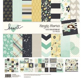 Assortiment 30x30 'Simple Stories - Heart' Collection Kit