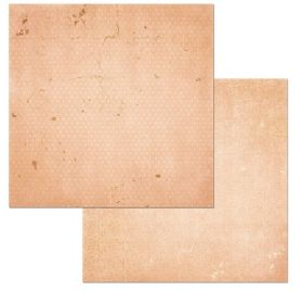 Papier double 30x30 'BoBunny - Double Dot' Peaches & Cream Vintage