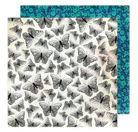 Papier double 30x30 'Vicki Boutin - Color Kaleidoscope' Flight of Fancy