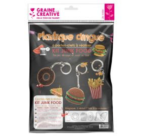 Kit Plastique Dingue 'Graine Créative by PW' Junk Food