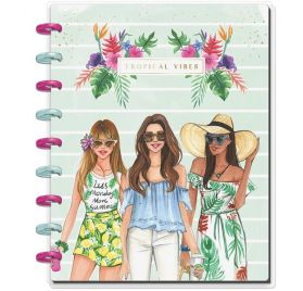 Classic Carnet 'Me & My Big Ideas - Happy Notes' Tropical Vibes