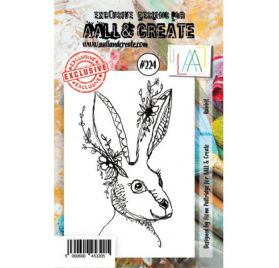 Tampon transparent 'AALL and Create' Rabbit 224