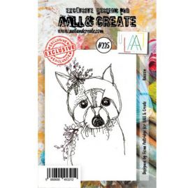 Tampon transparent 'AALL and Create' Racoon 225