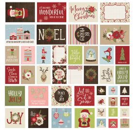 48 cartes 'Simple Stories - Holly Jolly'