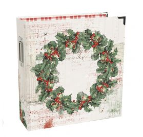 Album 15x20 'Simple Stories - Country Christmas' Holiday Binder