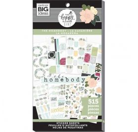 Bloc de 515 autocollants 'Me & My Big Ideas - The Happy Planner Girl' La casanière