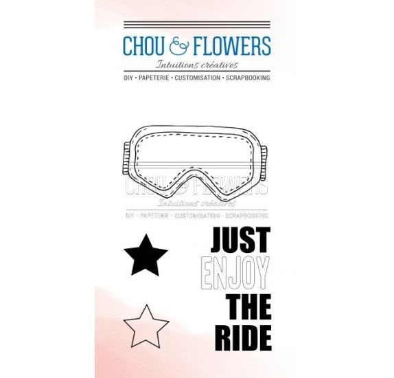 Tampons transparents 'Chou & Flowers - Souffle d'hiver' The Ride