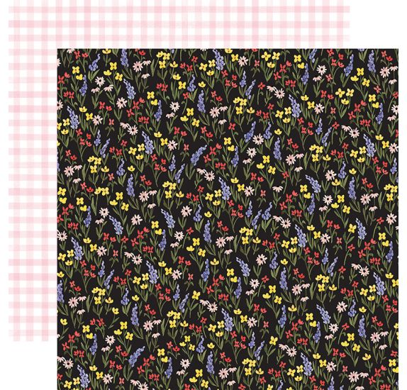 Papier double 30x30 'Carta Bella - Oh Happy Day' Perfect Floral