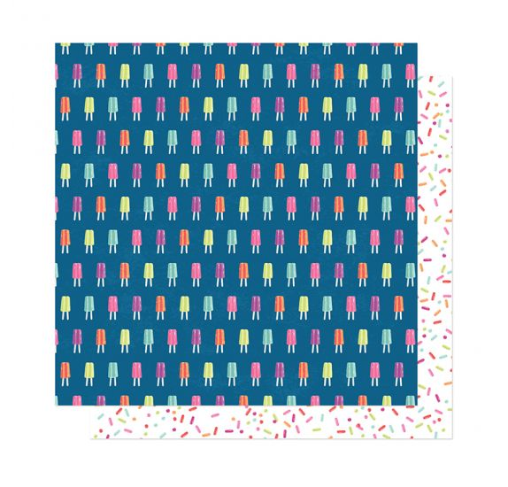 Papier double 30x30 'American Crafts - Here and Now' Stay Cool