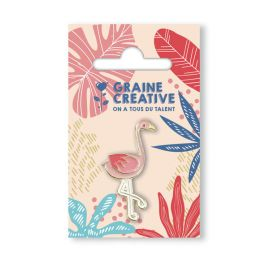 Pin's 'Graine Créative' Flamant rose