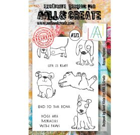 Tampons transparents 'AALL and Create' Rescue Puppies 373