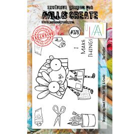 Tampons transparents 'AALL and Create' The Crafter 378