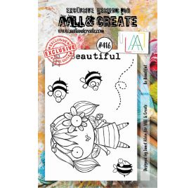 Tampons transparents 'AALL and Create' Be Beautiful 416