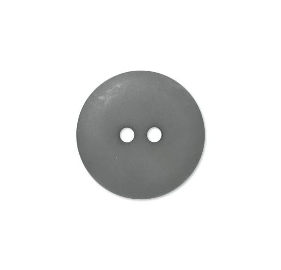 Bouton couture en Polyester '3B com' Gris Anthracite Mat