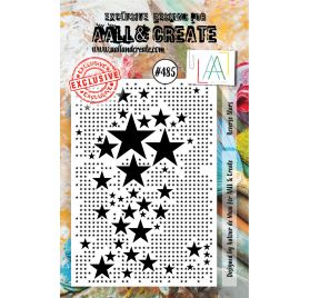 Tampon transparent 'AALL and Create' Reverse Stars 485