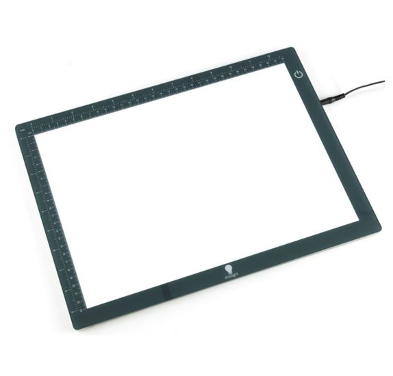 """Table lumineuse A4 extra-plate LED Wafer 1 """"Daylight"""""""
