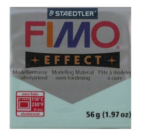 Pâte Fimo - Effect -  56g - Mint