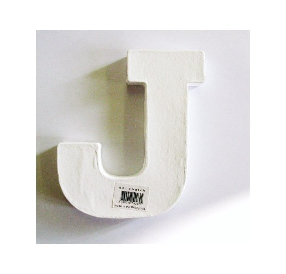Mini lettre J - Decopatch