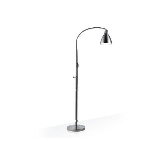 Flexi-vision Floor Lamp - Daylight - Satin silver