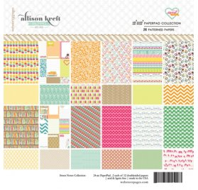 Assortiment 30x30 - Webster's Pages - Sweet Notes
